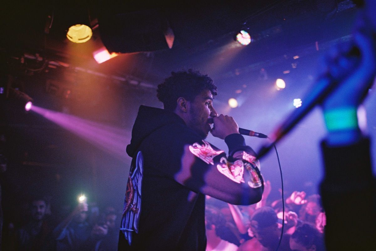 AJ Tracey - Dingwalls, London (Credit: Vicky Grout)