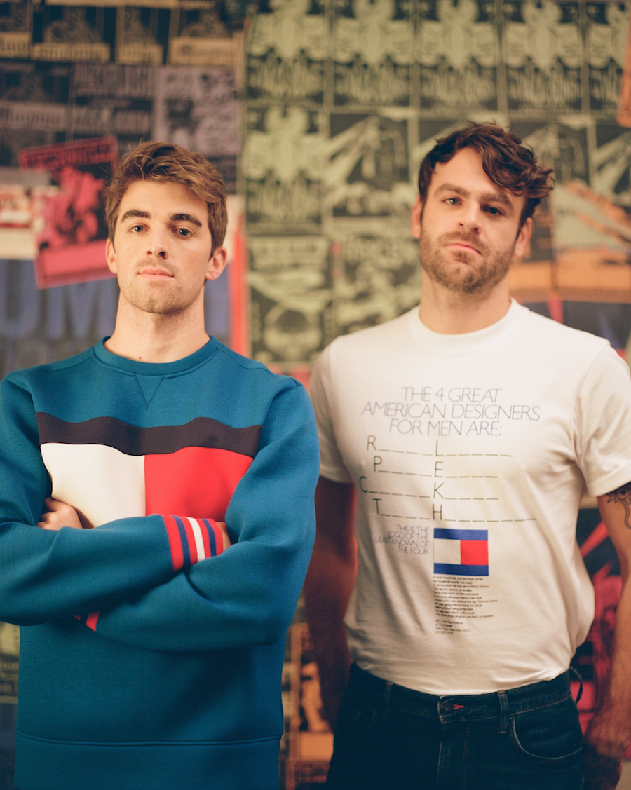 The Chainsmokers (Credit: Vicky Grout)
