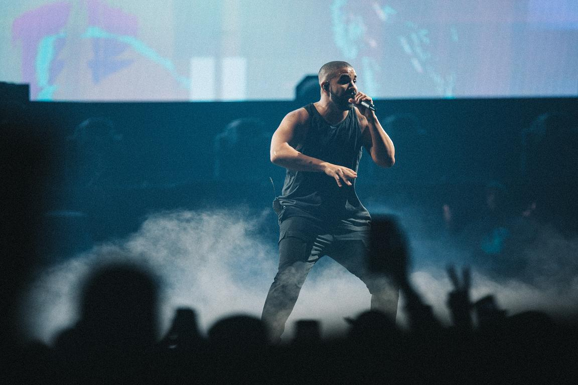 Drake, O2 Arena - London (Credit: Vicky Grout)