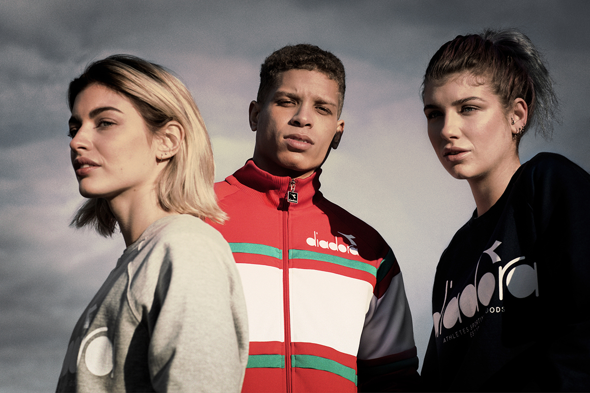 Diadora's S/S '17 #OnTheBrightSide terrace inspired campaign