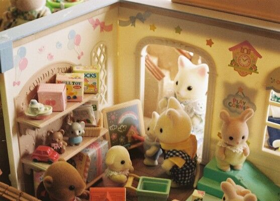 The cutest store ever - Sylvanian families!