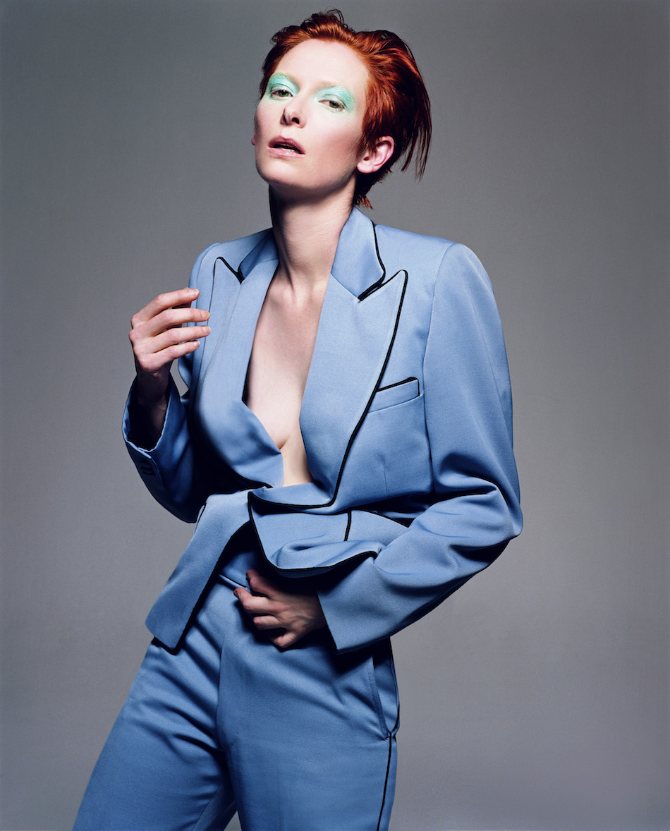 Tilda Swinton, Vogue Italia, February 2003 © Craig McDean, Courtesy Art + Commerce