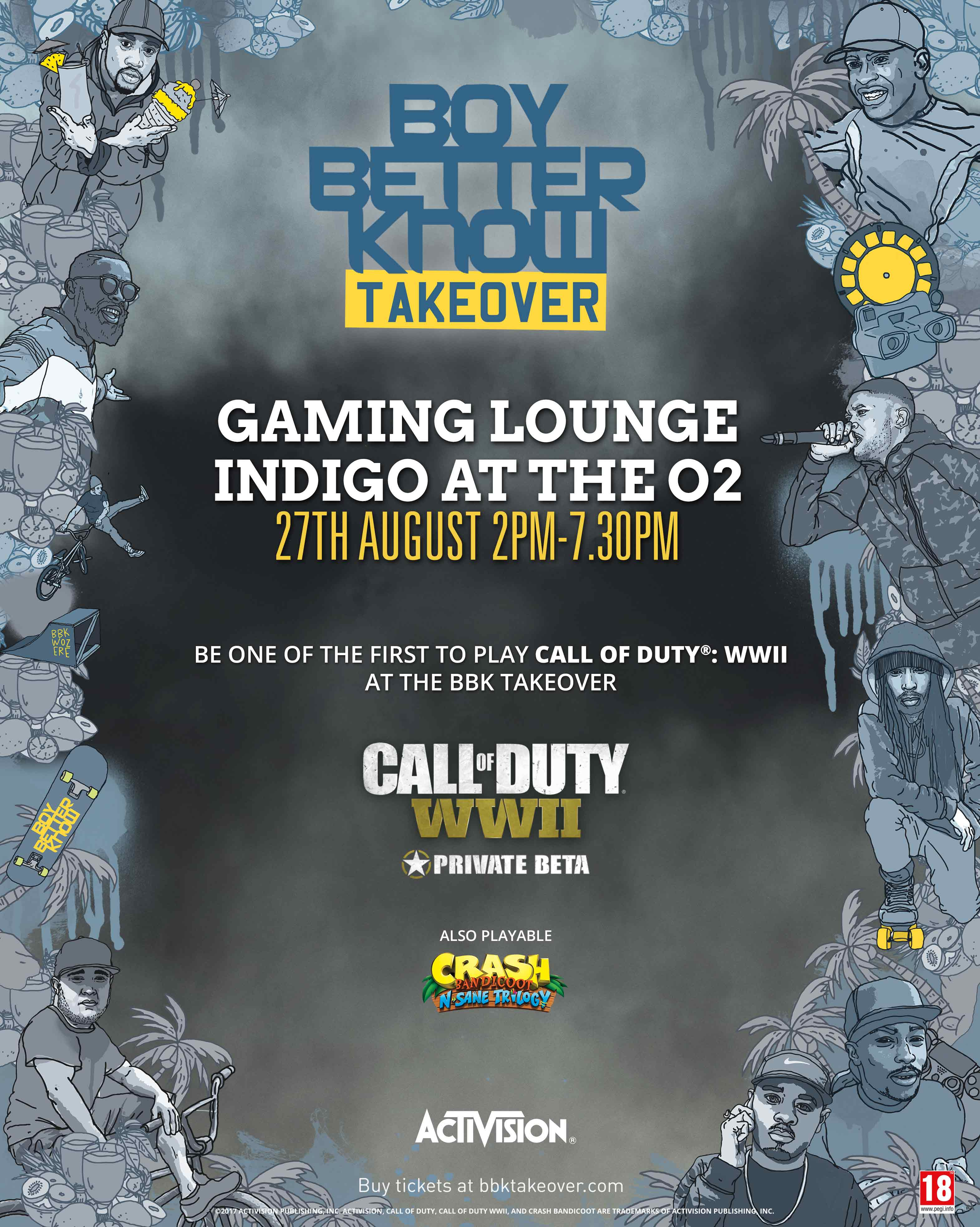 Boy Better Know O2 Takeover Gaming Lounge