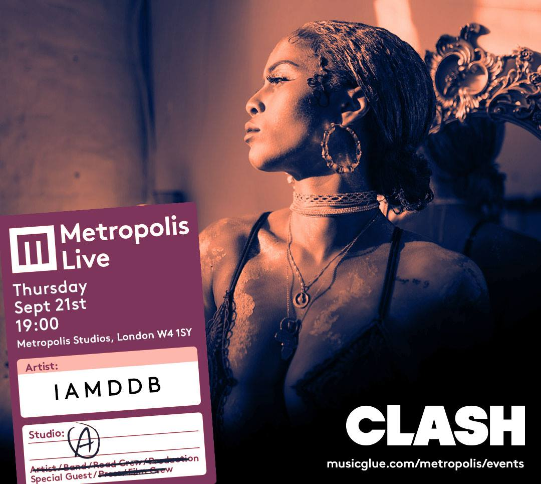 Metropolis x Clash event flyer