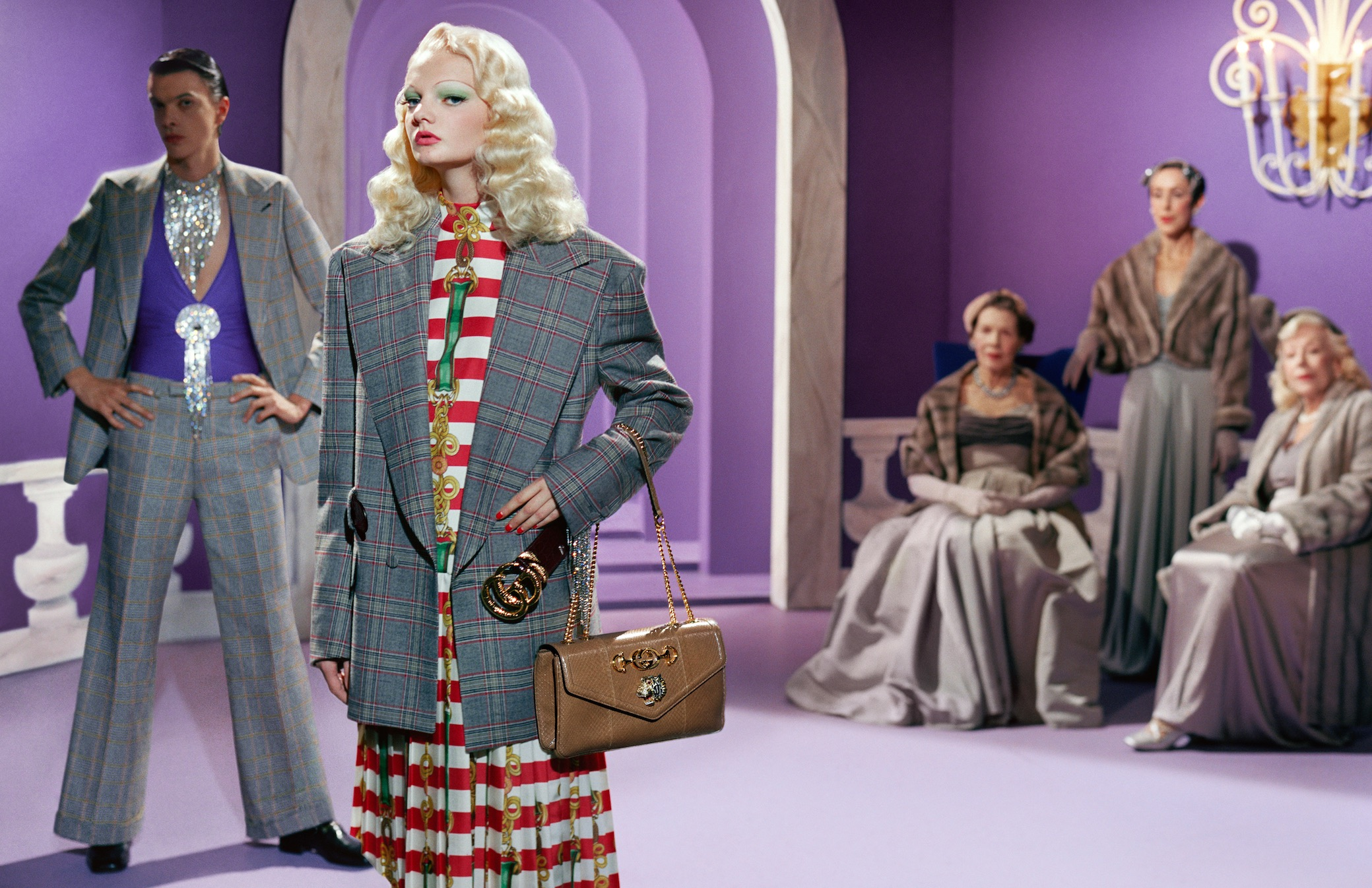 194ca79ef7b Gucci SS19 Campaign Conjures Old Hollywood Glitz And Glamour ...