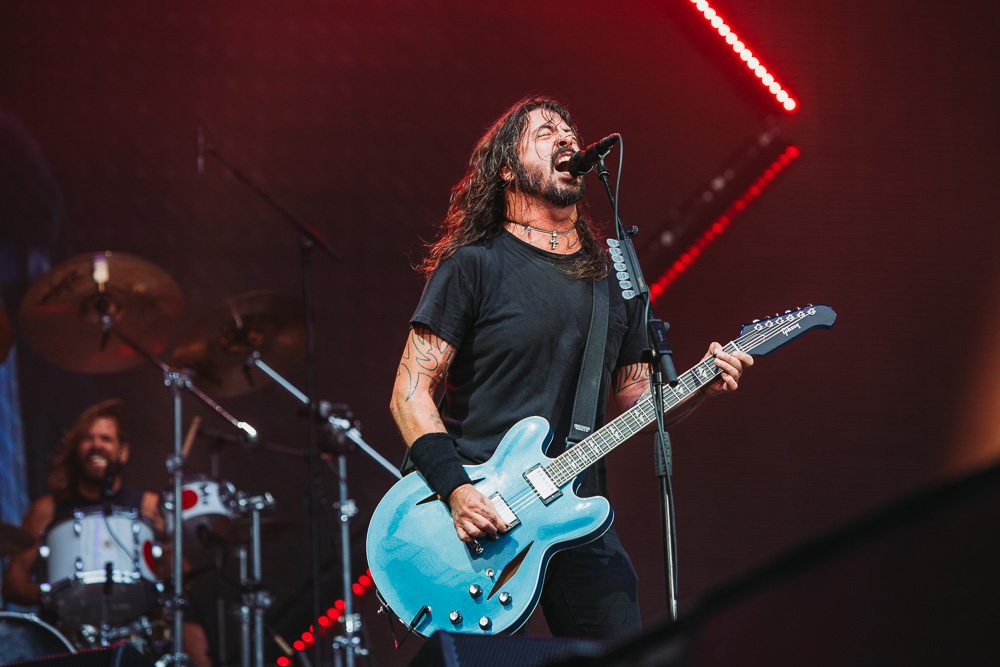 Foo Fighters (Credit: Danny Panye)