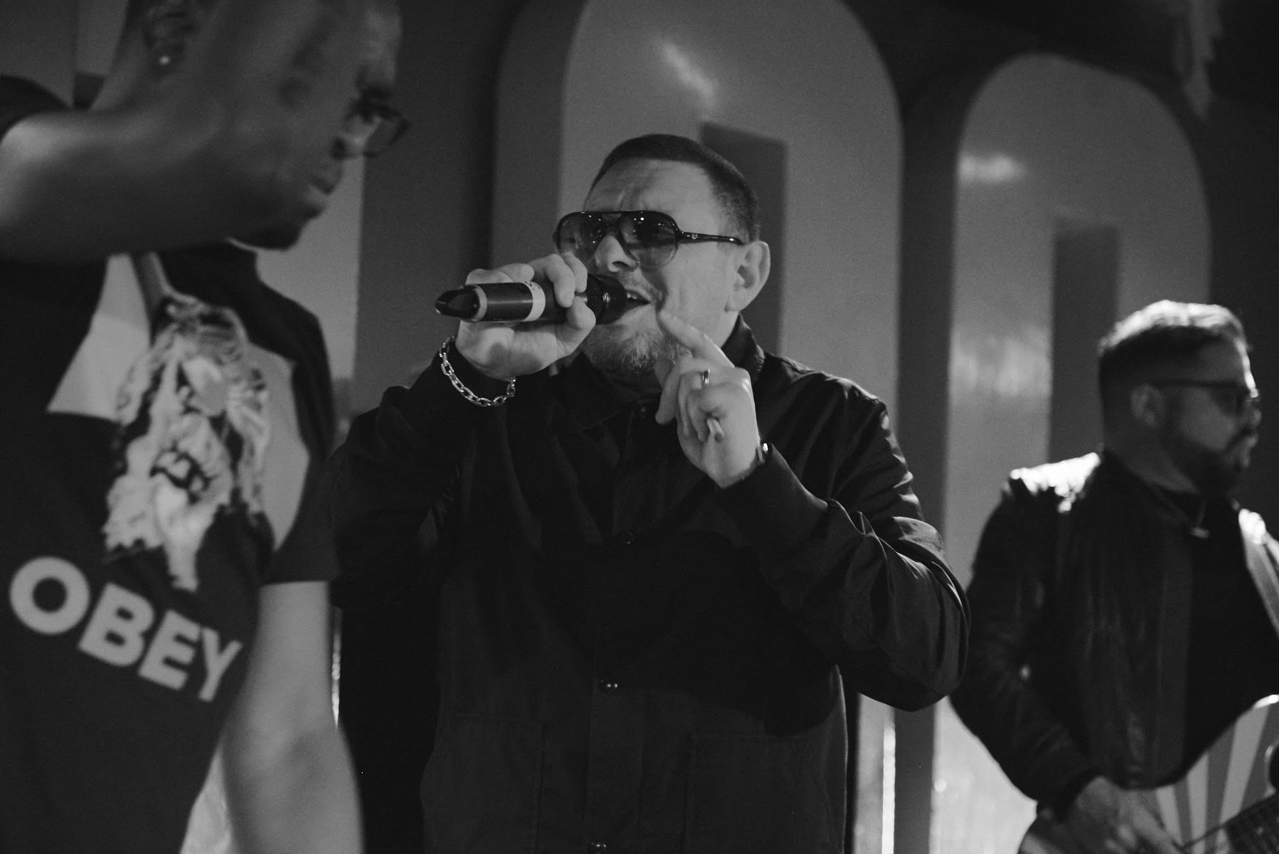 Black Grape at The 100 Club, London, for Fred Perry Subculture Live