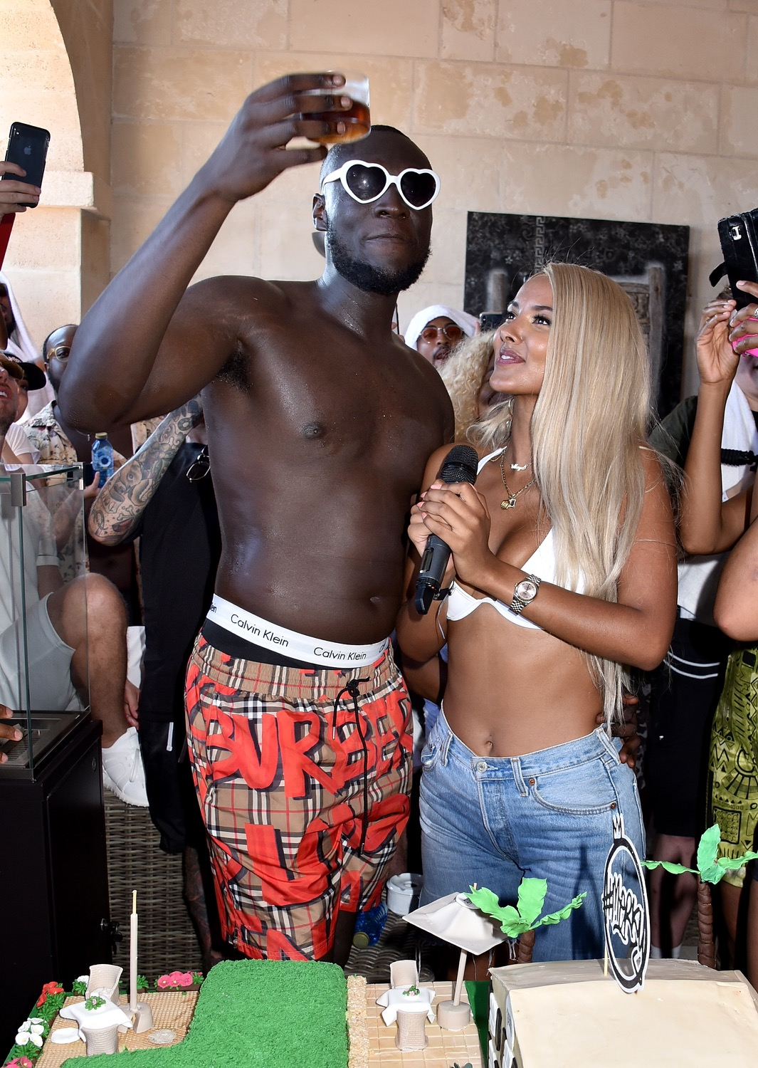 Stormzy's birthday party (Credit: Dave Benett / Getty)