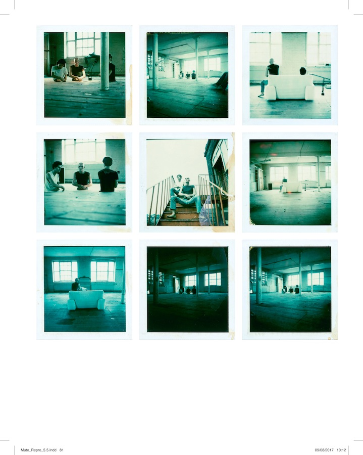 Test polaroids for the cover of Yazoo's 'Upstairs At Eric's'
