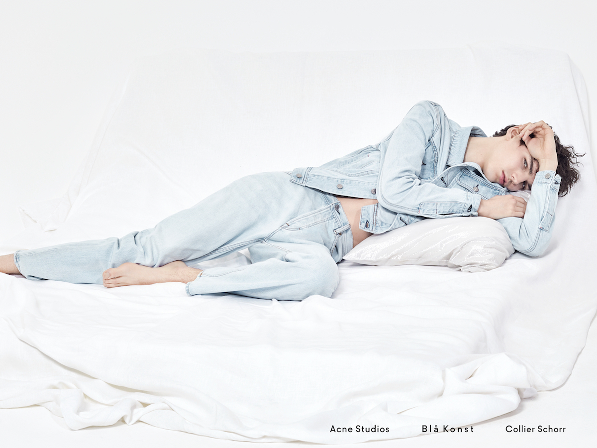 Exclusive preview of Acne's new Blå Konst campaign