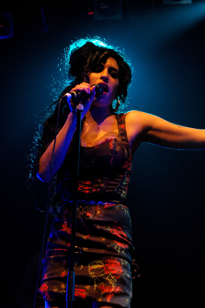 Amy Winehouse (Credit: Gregory Nolan)