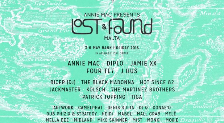 Annie Mac Presents: Lost & Found In Malta 2018