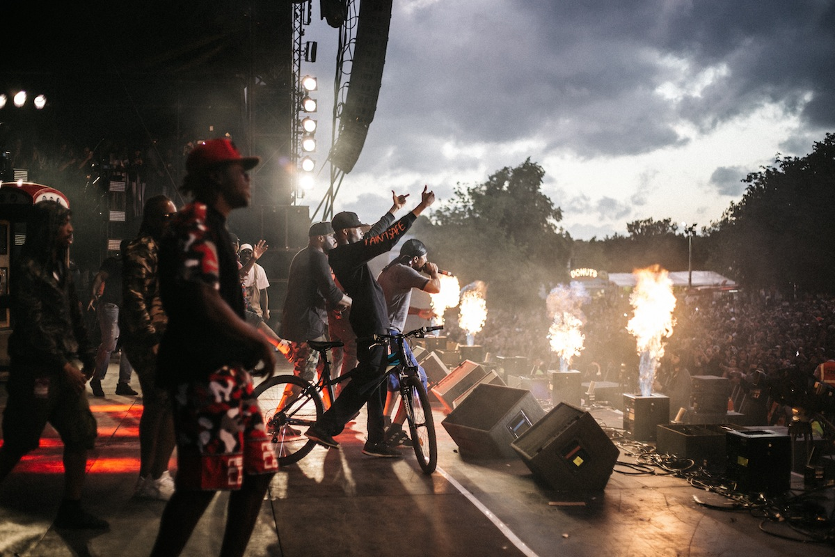 BBK at Wireless (Credit: Vicky Grout)