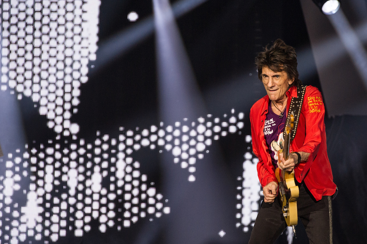 Ronnie Wood @ U Arena, Paris
