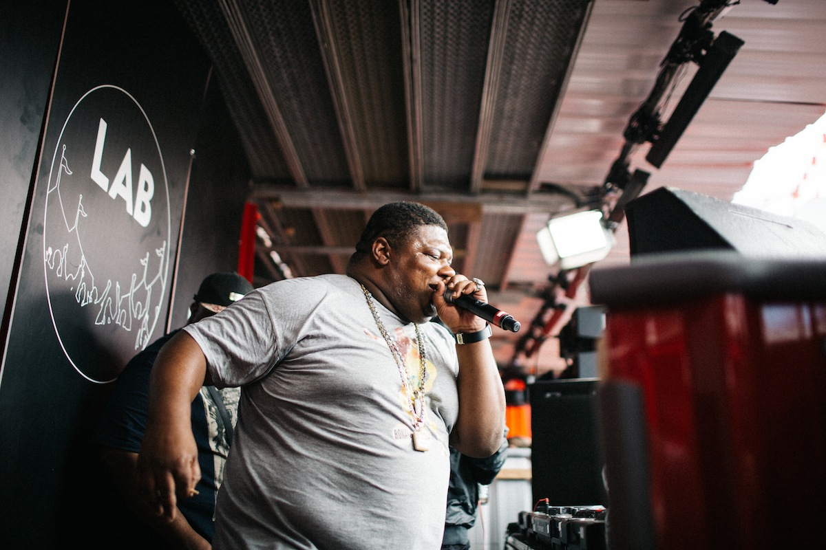 Big Narstie - Wireless (Credit: Vicky Grout)