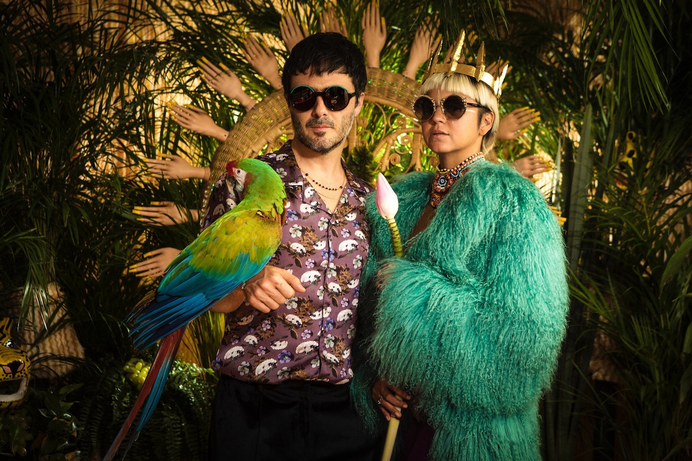 Bomba Estereo (Credit: Orly Anan)