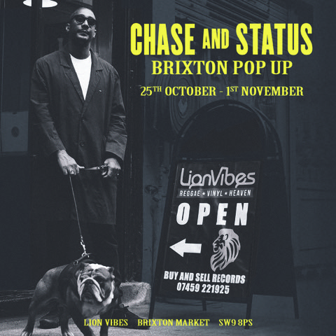 Chase and Status pop up