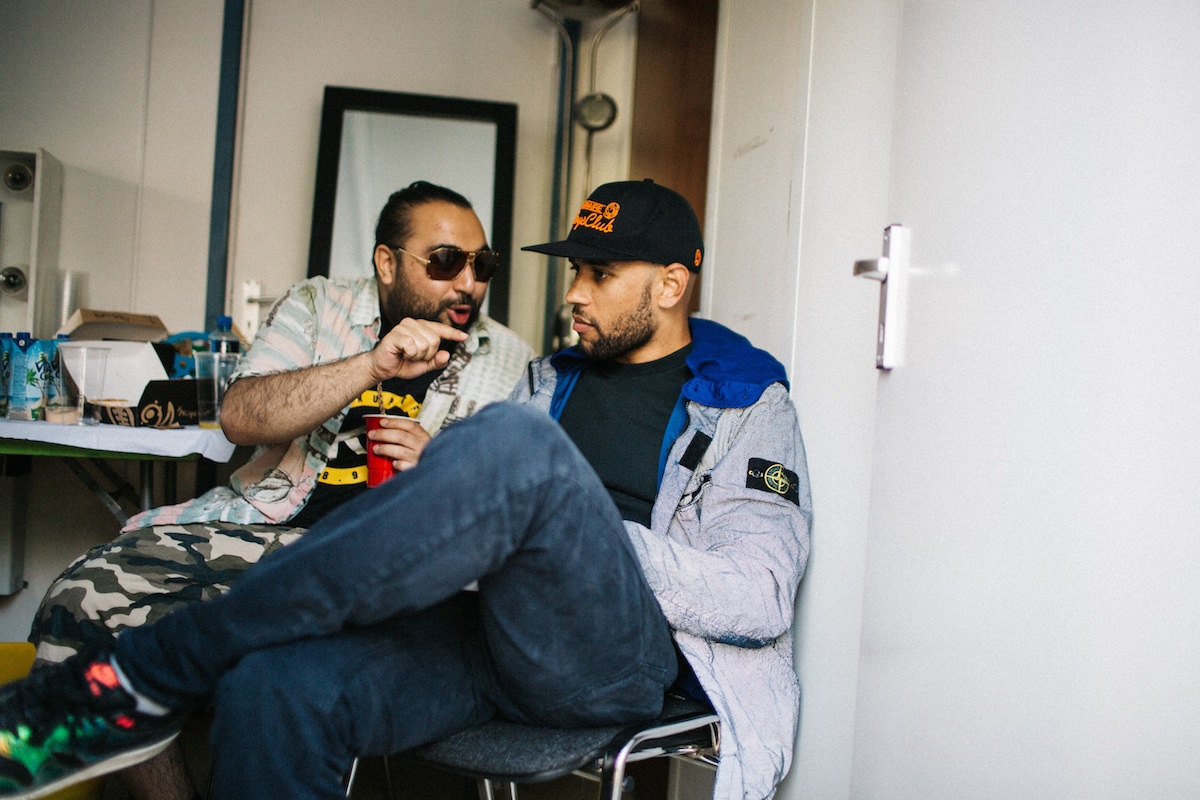 Chabuddy G & Meridian Dan (Credit: Vicky Grout)