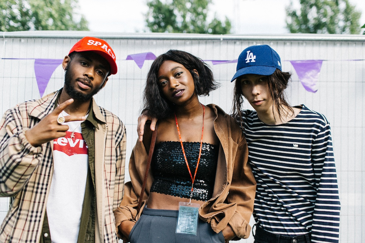 Chuck 20, Little Simz, Tilla (Credit: Vicky Grout)