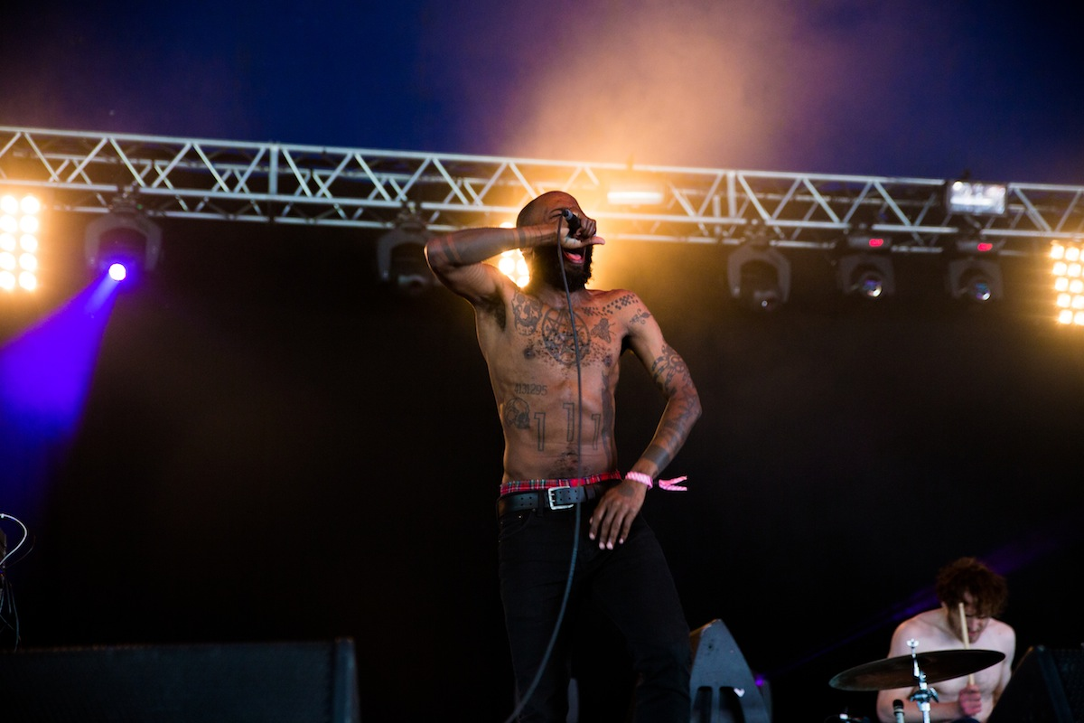 Death Grips, Field Day (Credit: Ben McQuaide)