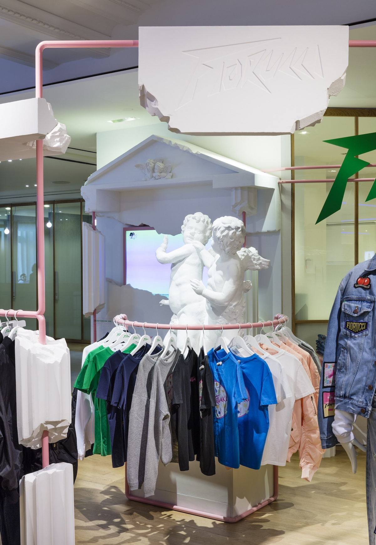 Fioruci's new shop-in-shop space at Selfridges London