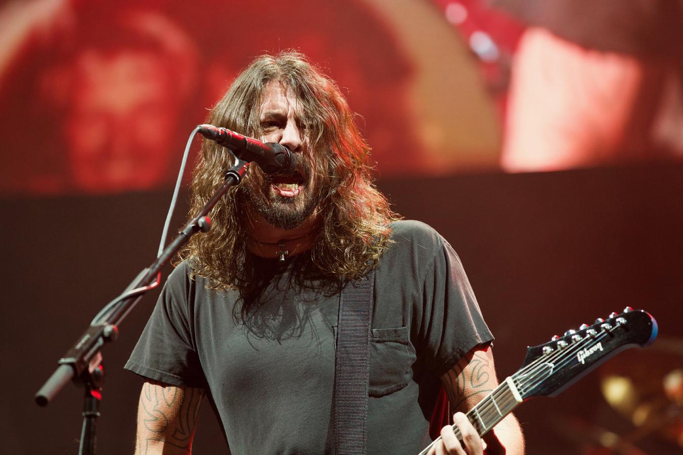 Foo Fighters - O2 Arena, London (Credit: Jamie MacMillan)
