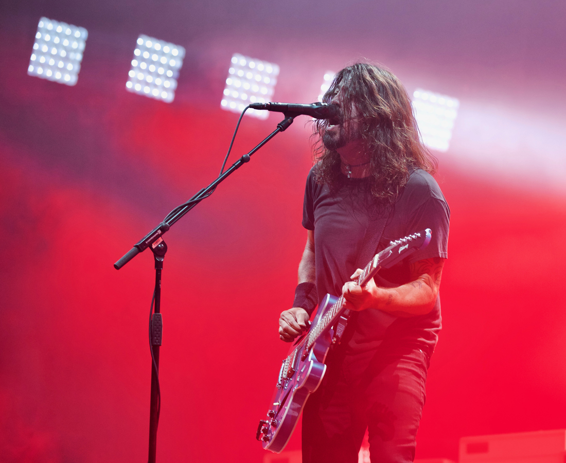 Foo Fighters - O2 Arena, London (Credit: Jamie MacMillan)