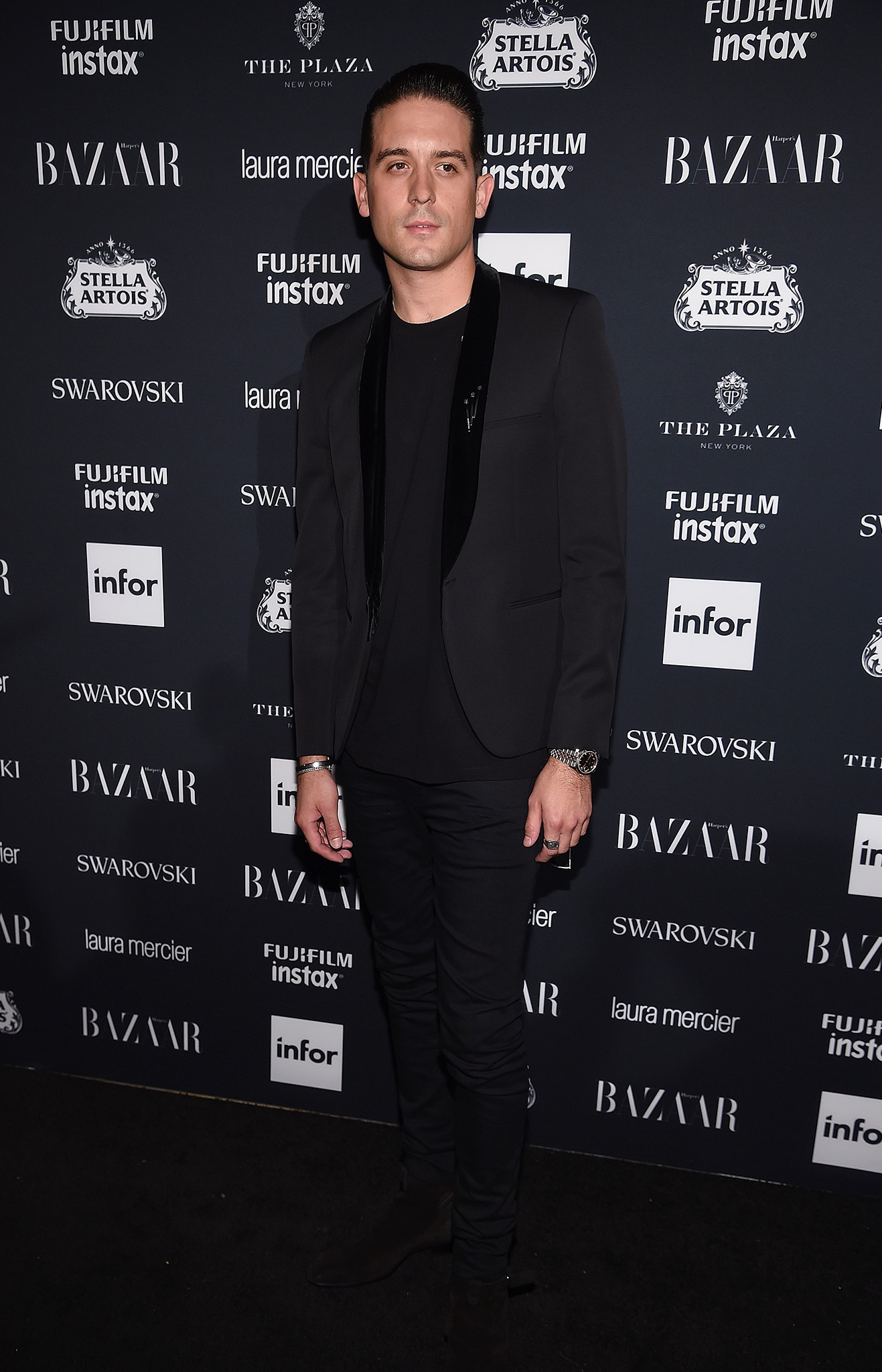 G-Eazy at Harpers Bazaar Icons by Carine Roitfeld event