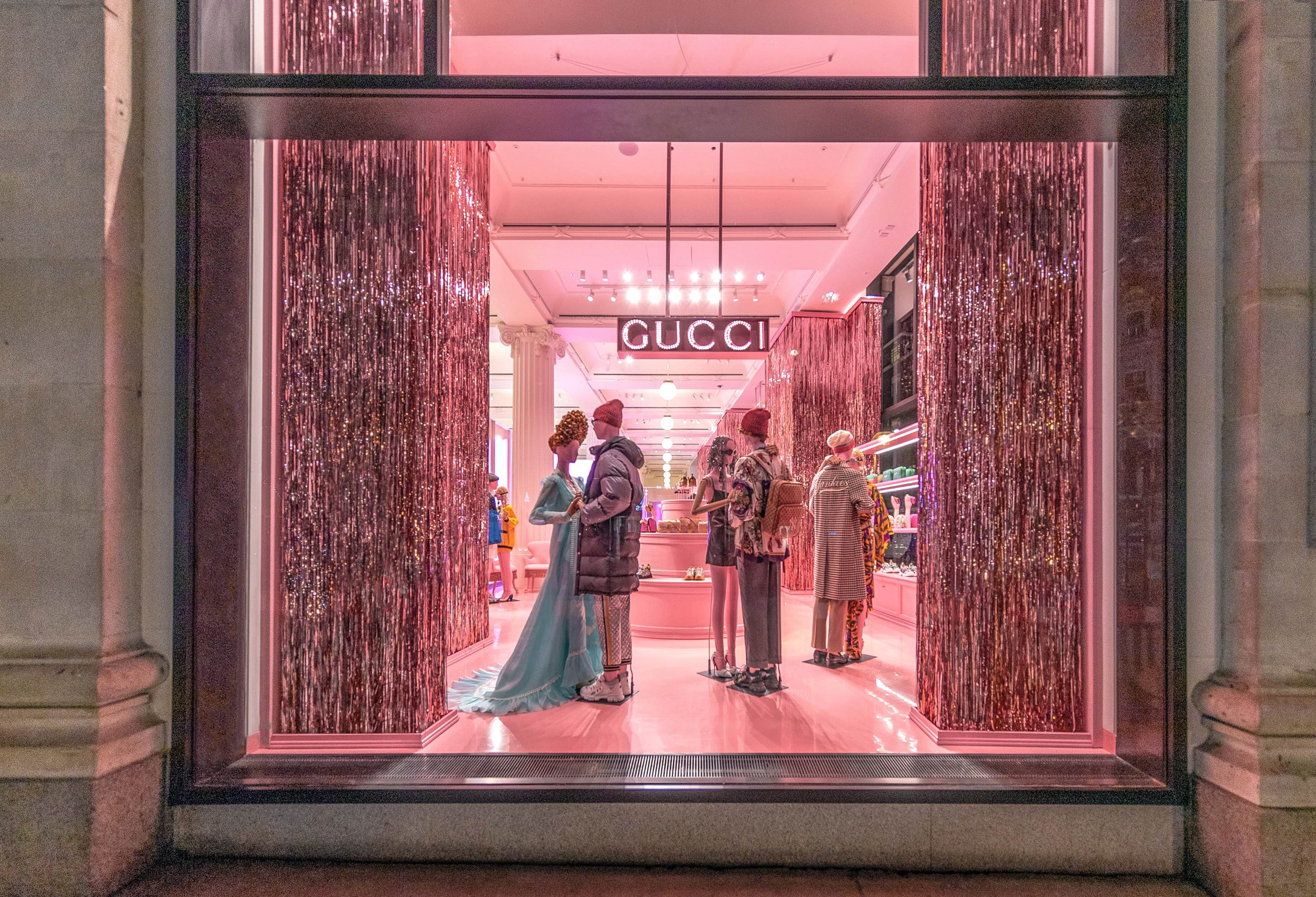 69afea5a04aa Gucci Takes Over The Selfridges Corner Shop