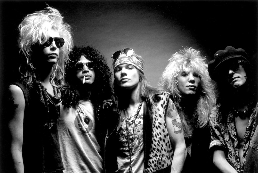 Guns N' Roses (Credit: Ross Halfin)