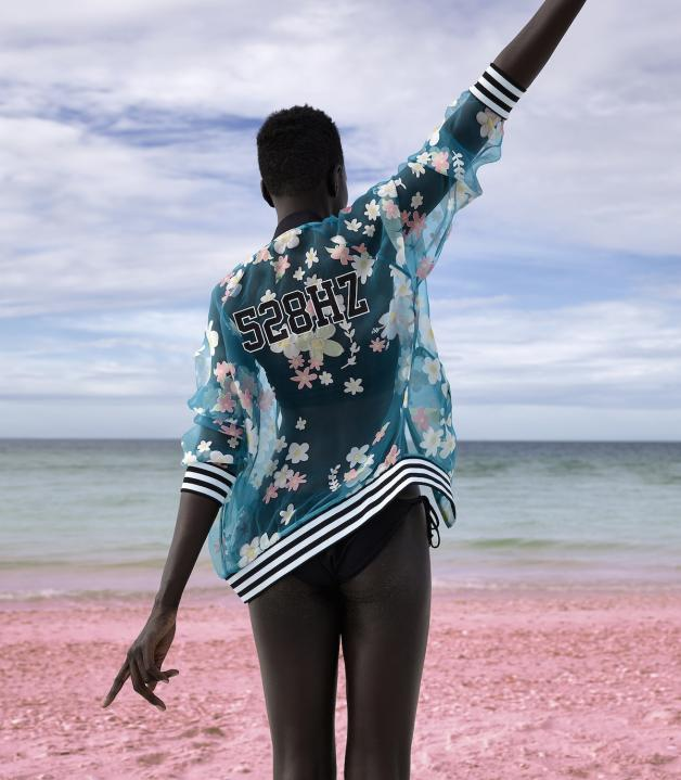 Pink Beach: adidas Originals By Pharrell Williams