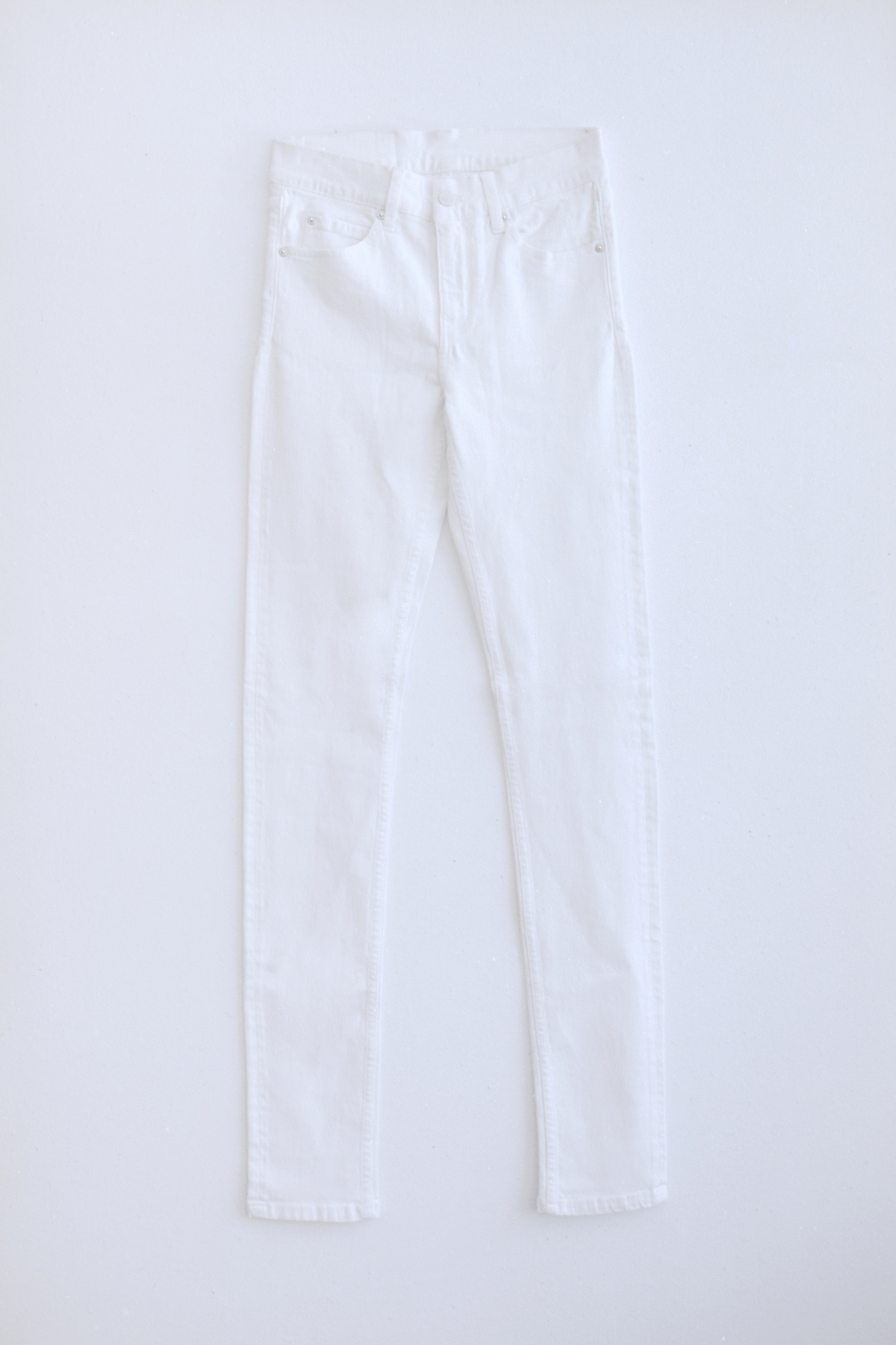High Spray White Jeans