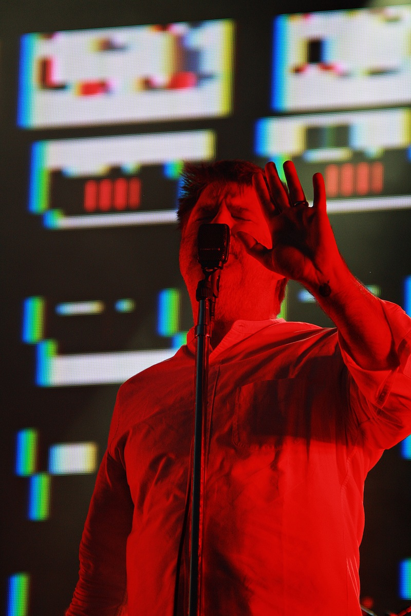 LCD Soundsystem, Lovebox (Credit: Holly Whitaker)