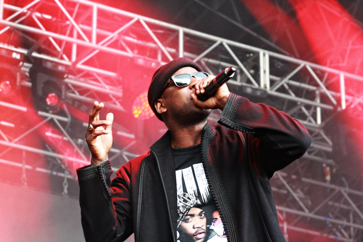 Skepta at EYOE Stage (Credit: Holly Whitaker)