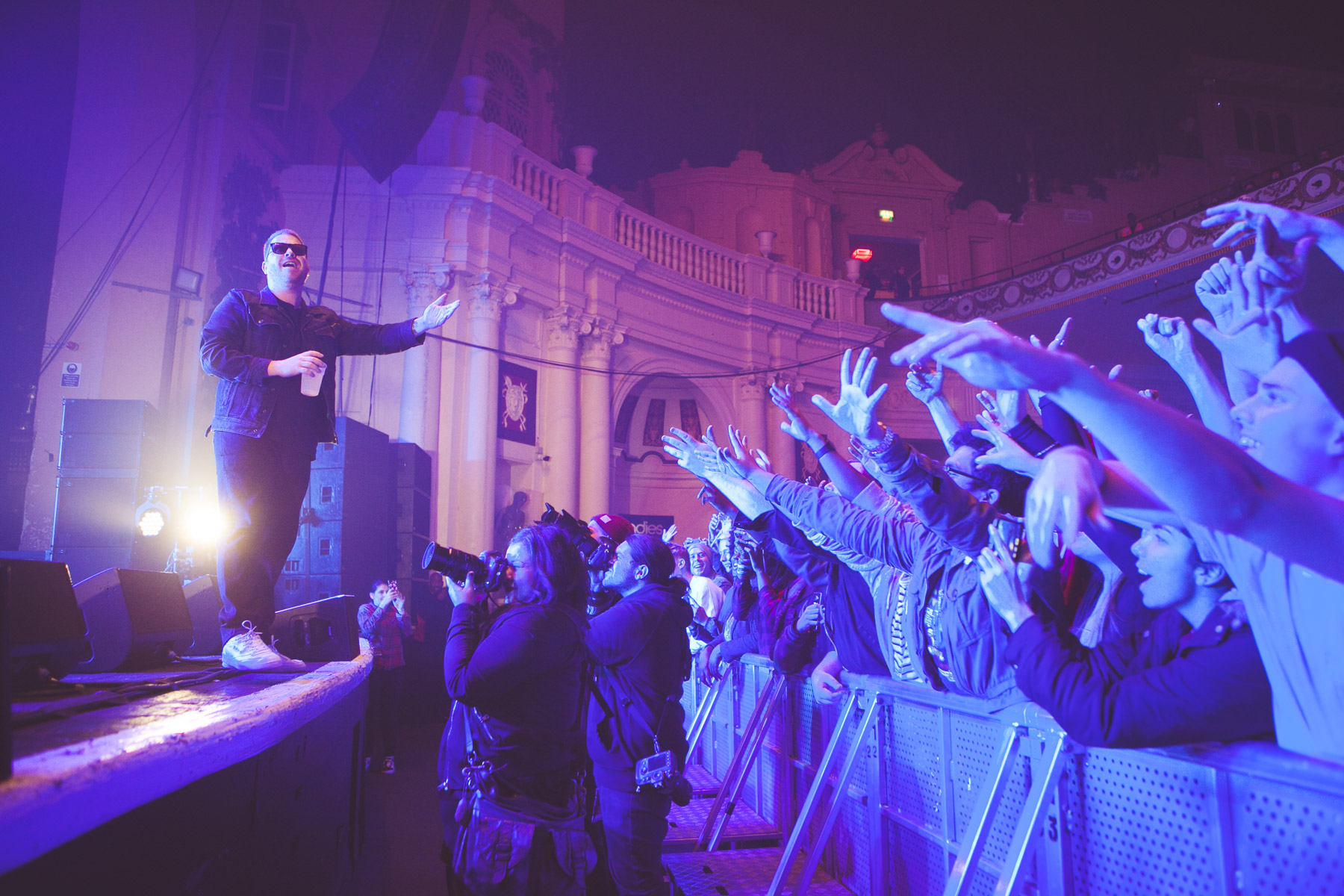 Run The Jewels, Brixton Academy (Credit: Rachel Lipsitz)