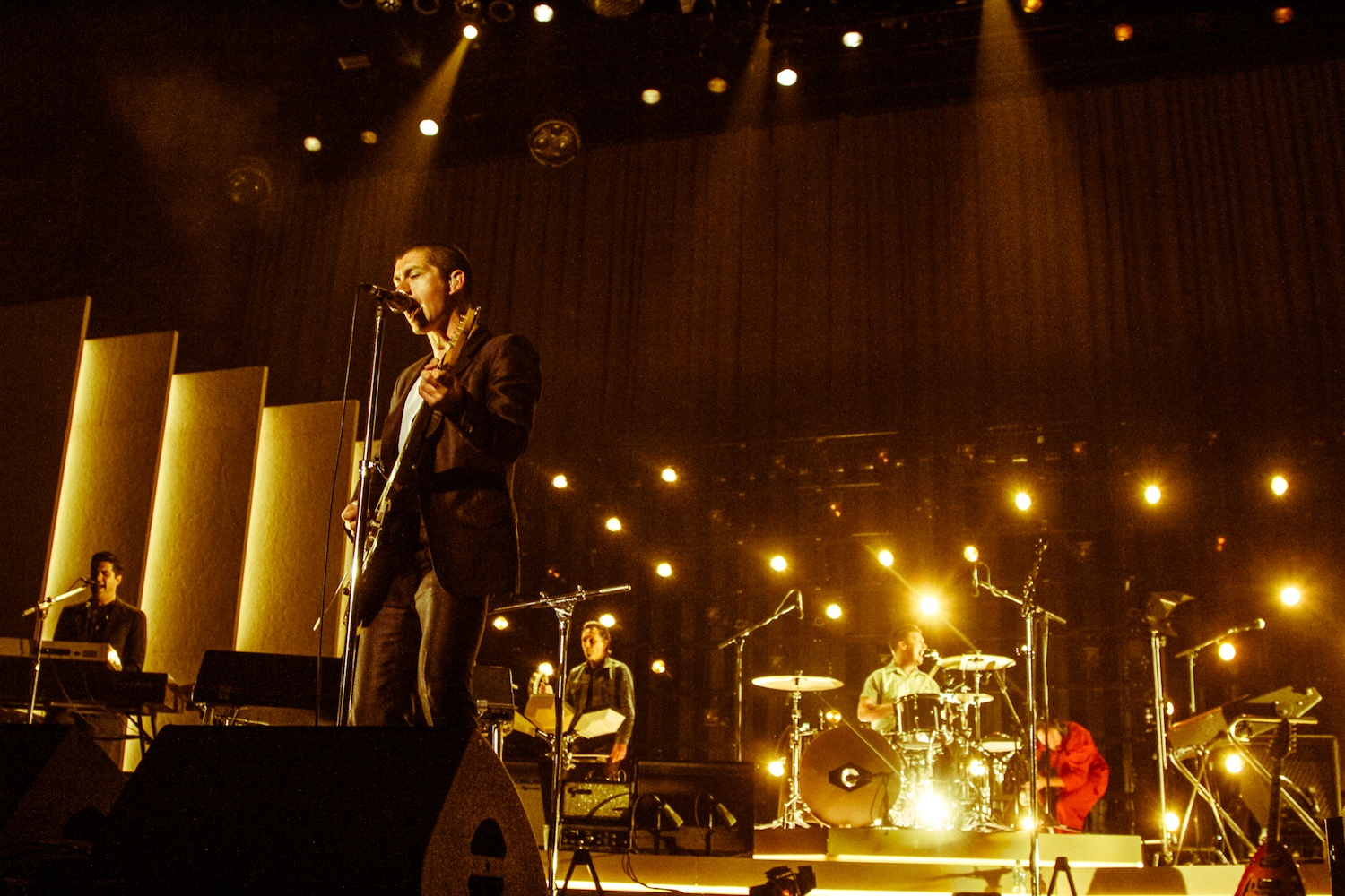 Arctic Monkeys (Credit: Lauren McDermott)