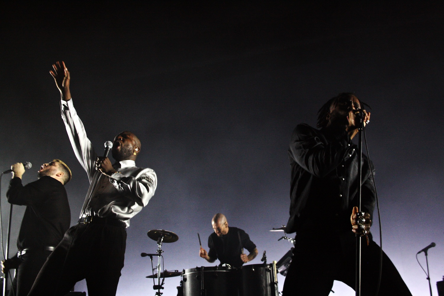 Young Fathers, Brixton Academy (Credit: Holly Whitaker)