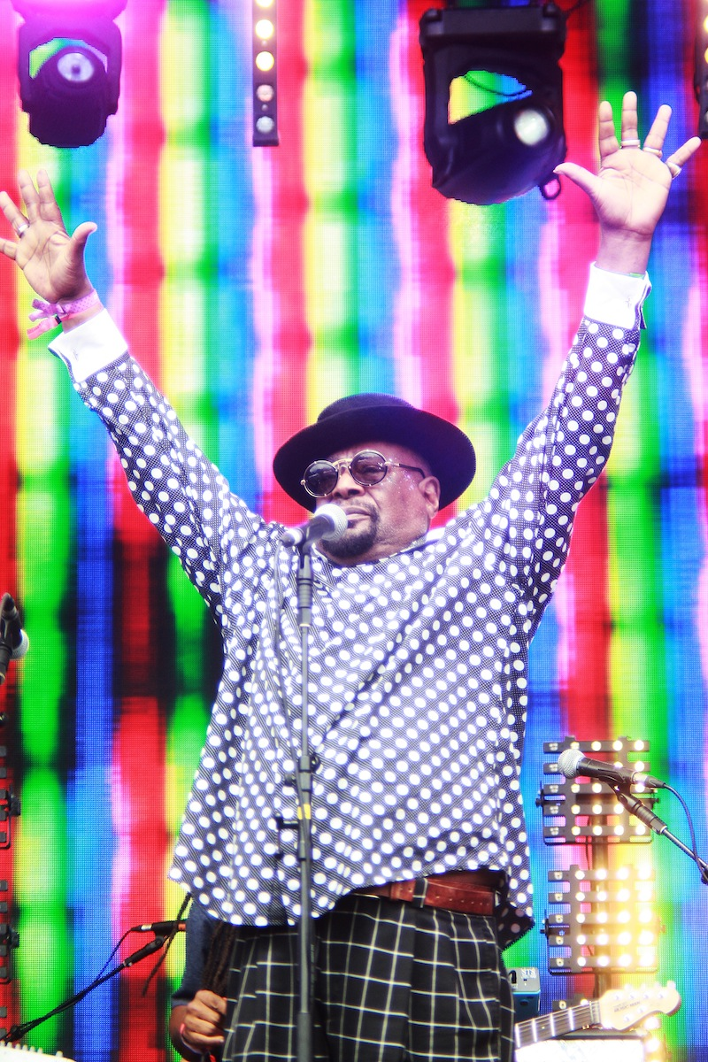 George Clinton, Lovebox (Credit: Holly Whitaker)