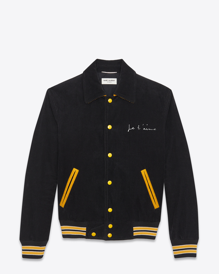 Jay Z's Saint Laurent 'Je T'Aime' Teddy Jacket