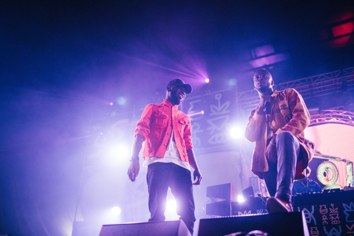 Kojey Radical & GoldLink (Credit: Vicky Grout)
