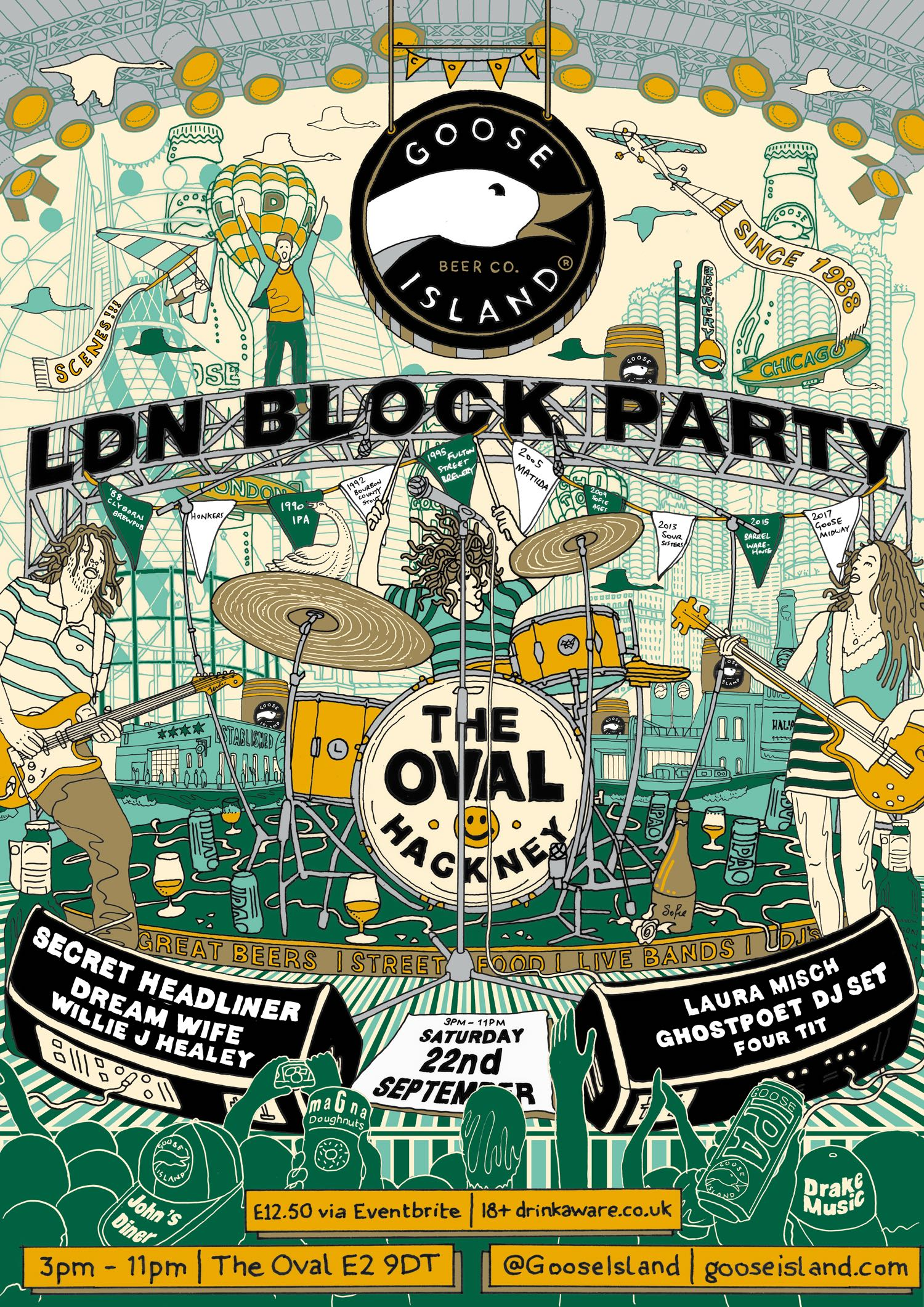Goose Island Block Party