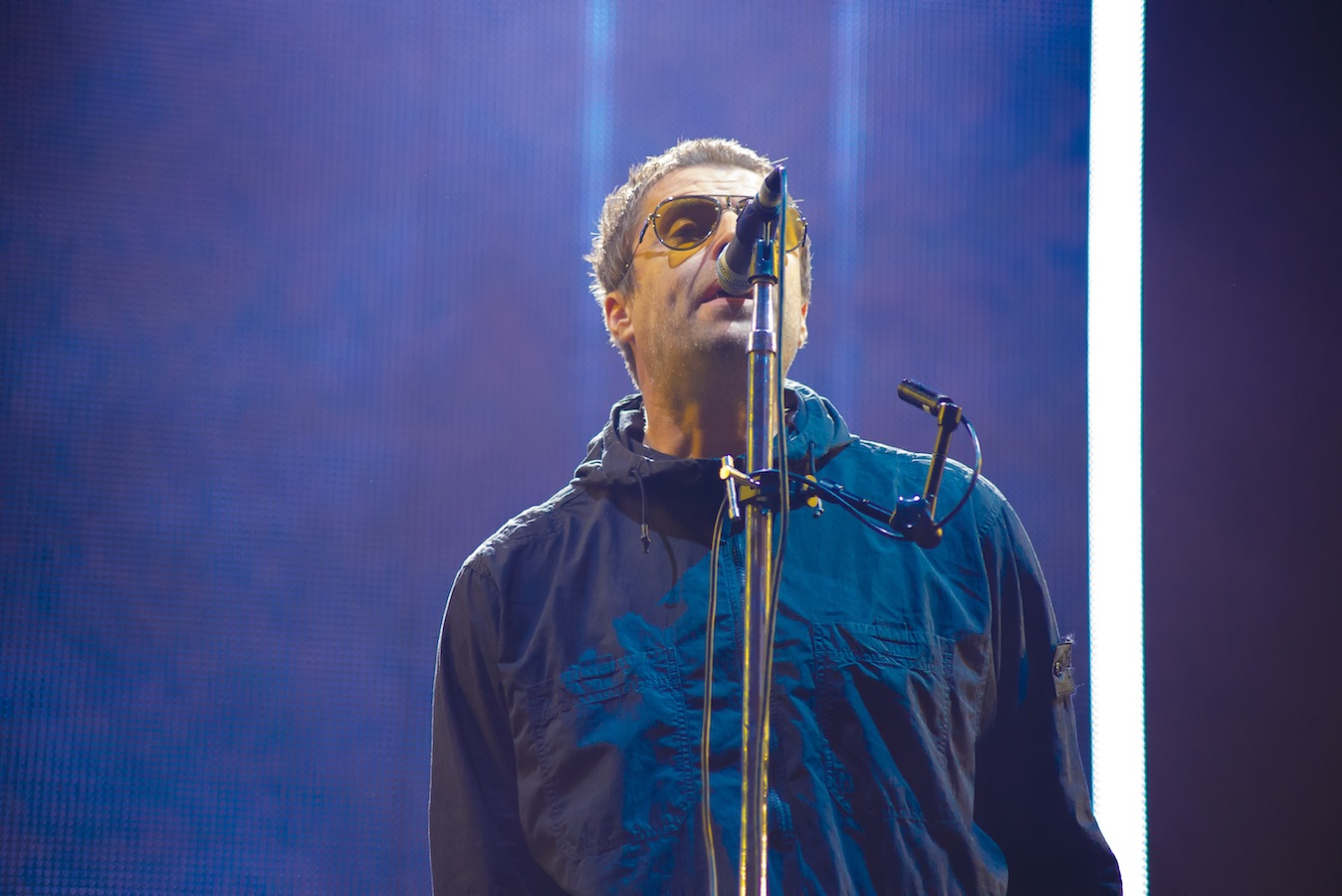 Liam Gallagher, Emirates Old Trafford (Credit: Paul Langley)