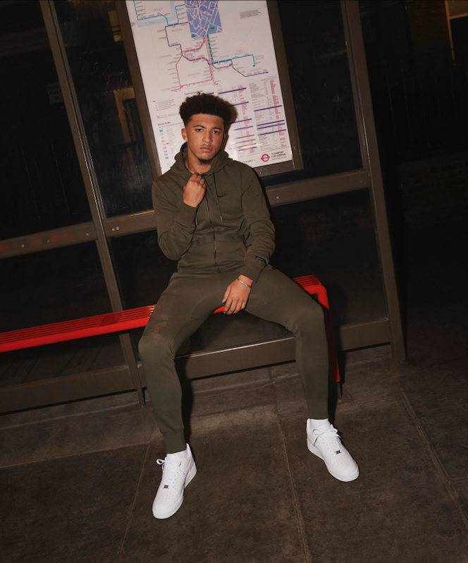 Jadon Sancho, footballer, Kennington