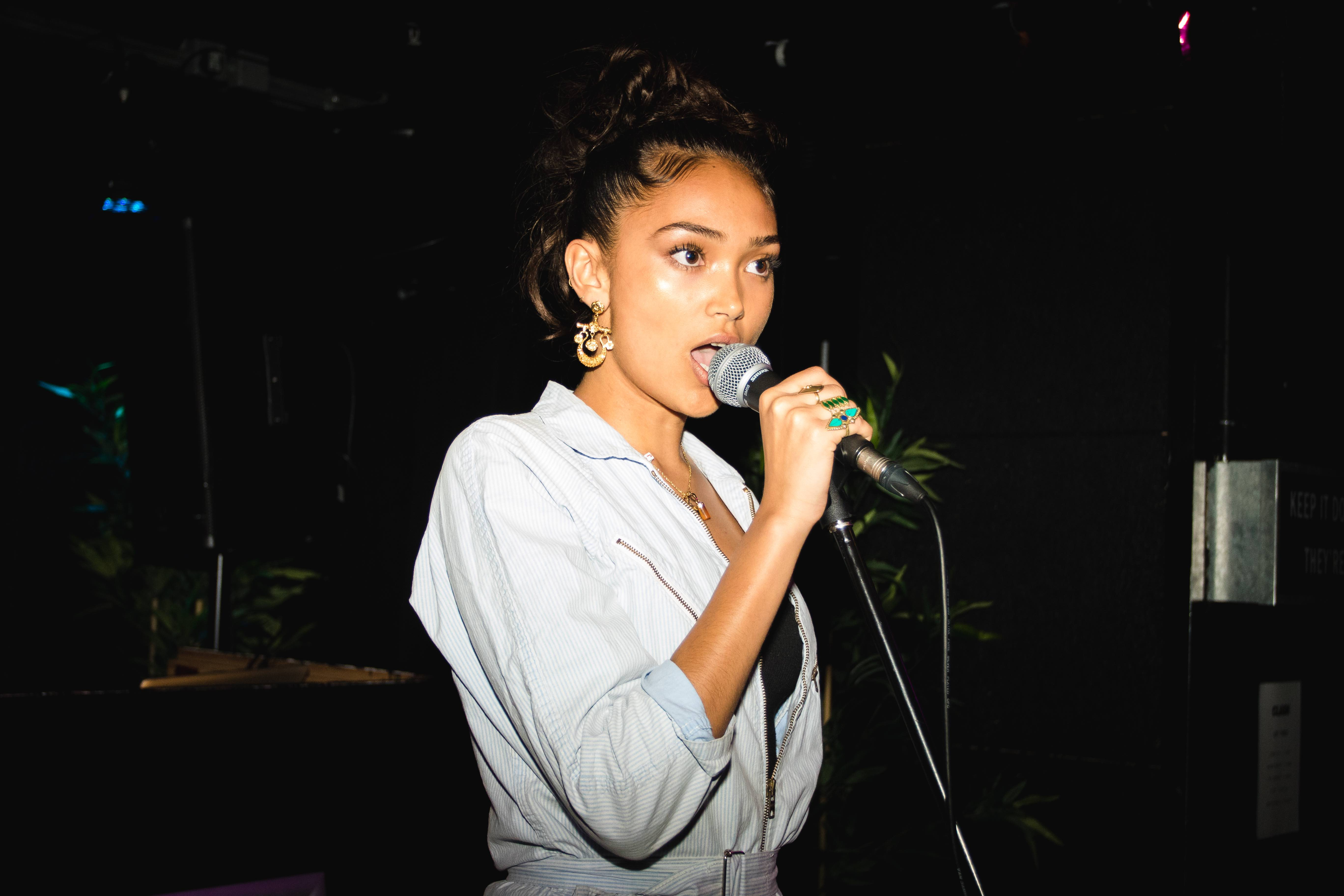 Joy Crookes, by Ben McQuaide