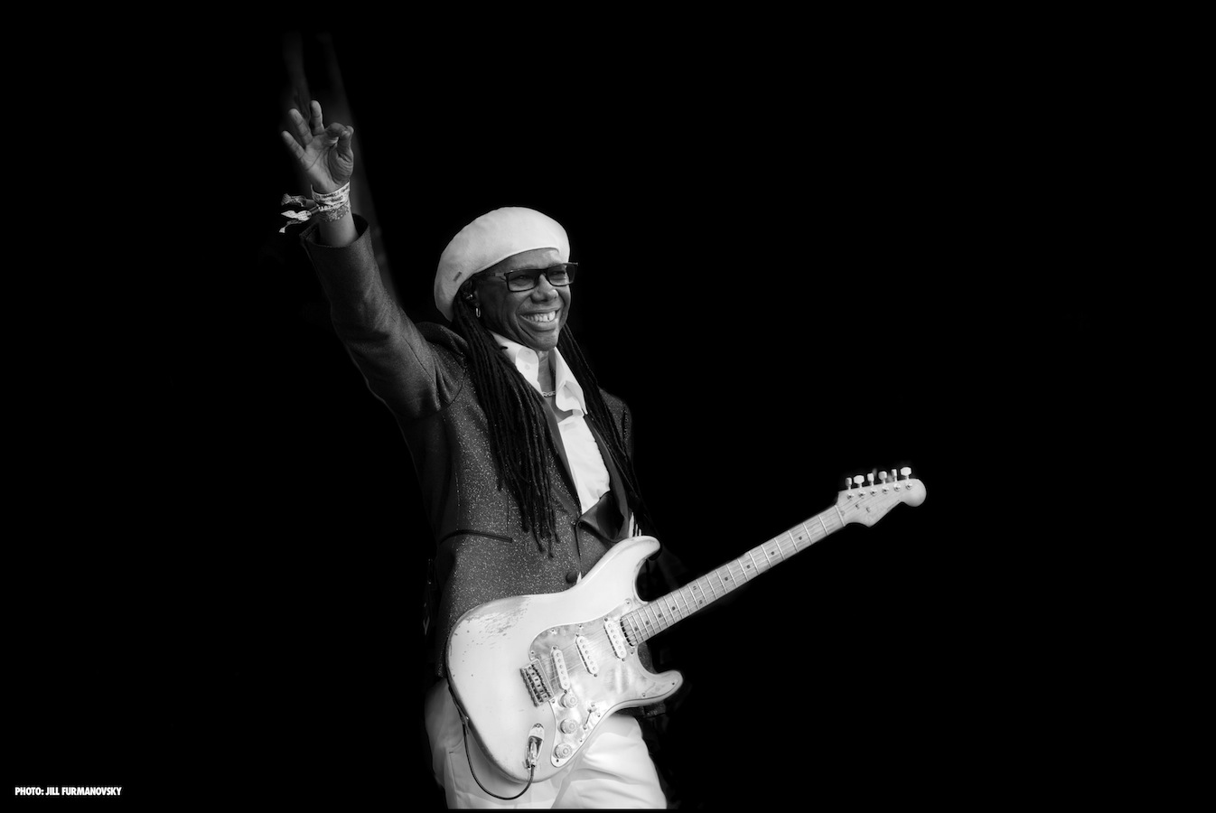 Nile Rodgers (Credit: Jill Furmanovsky)