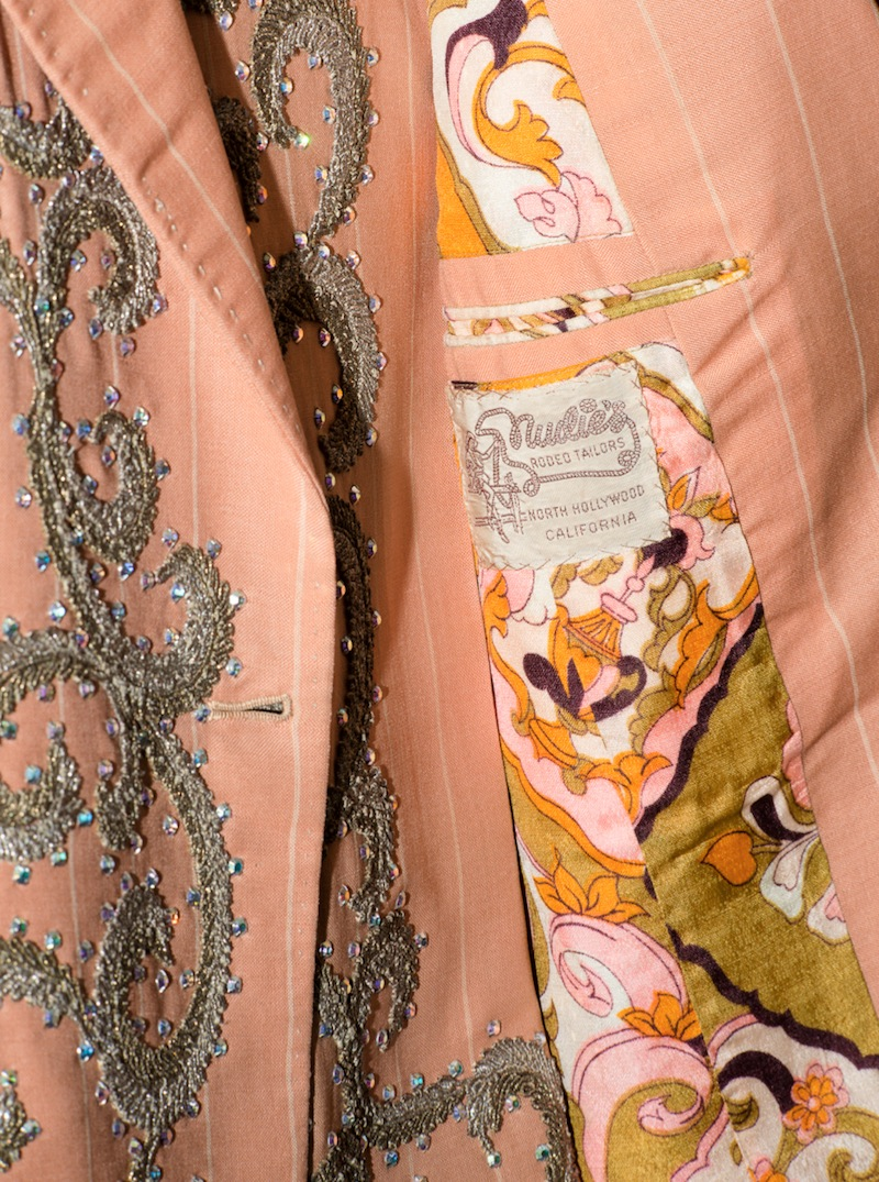 TEX WILLIAMS' PEACH-COLOURED NUDIE SUIT