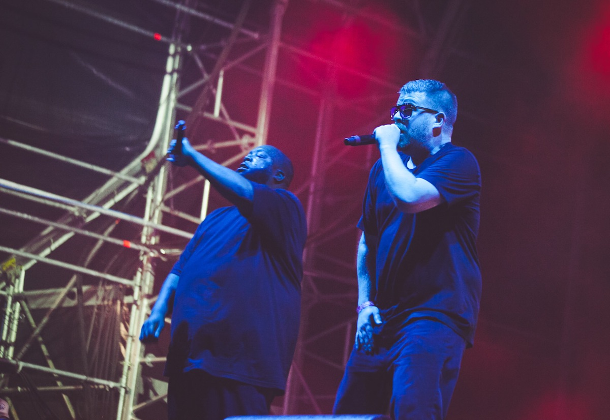 Run The Jewels, Field Day 2017 (Credit: Rachel Lipsitz)