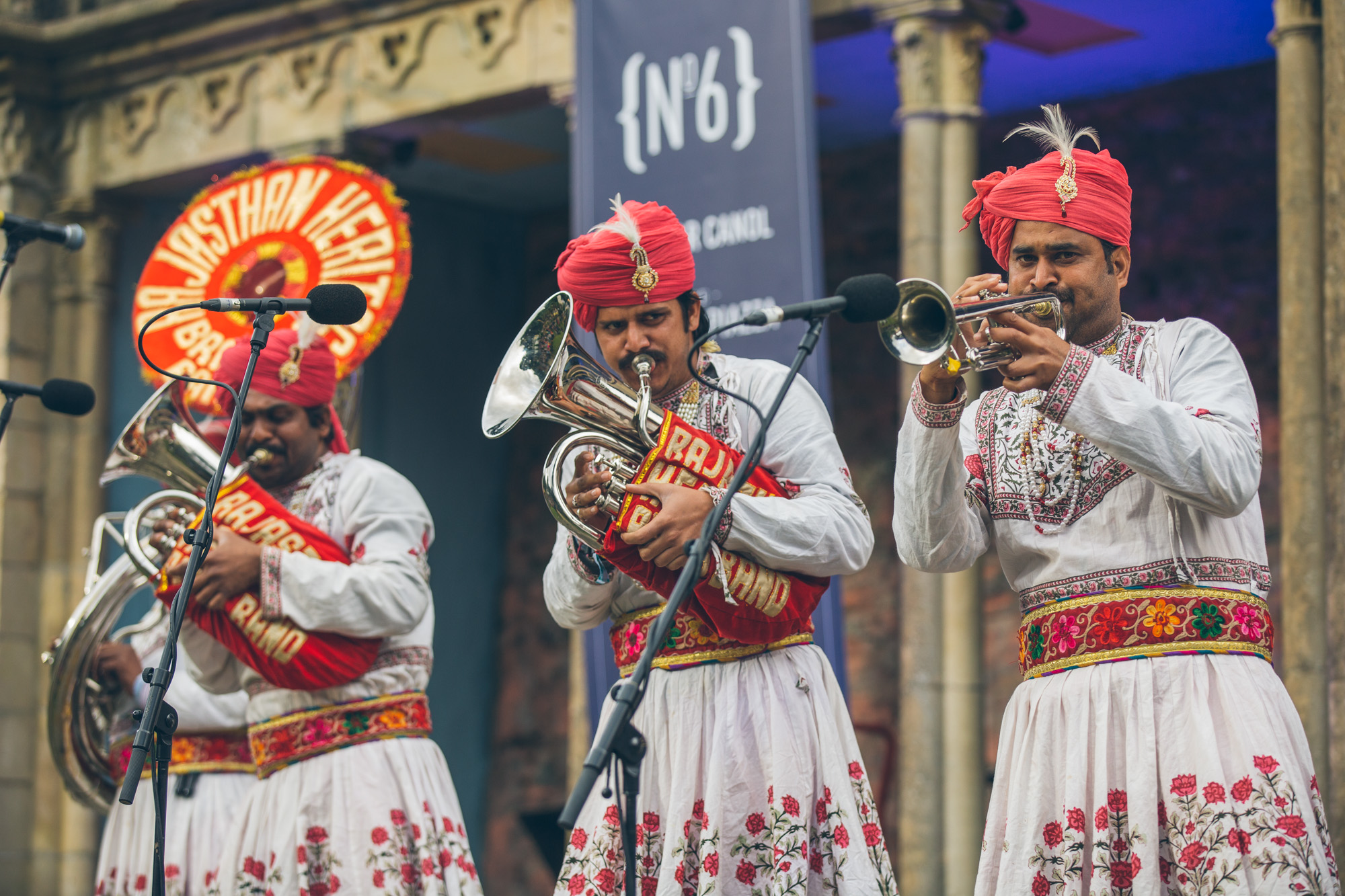 Rajasthan Heritage Brass Band, Festival No. 6 (Credit: Andrew Whitton)
