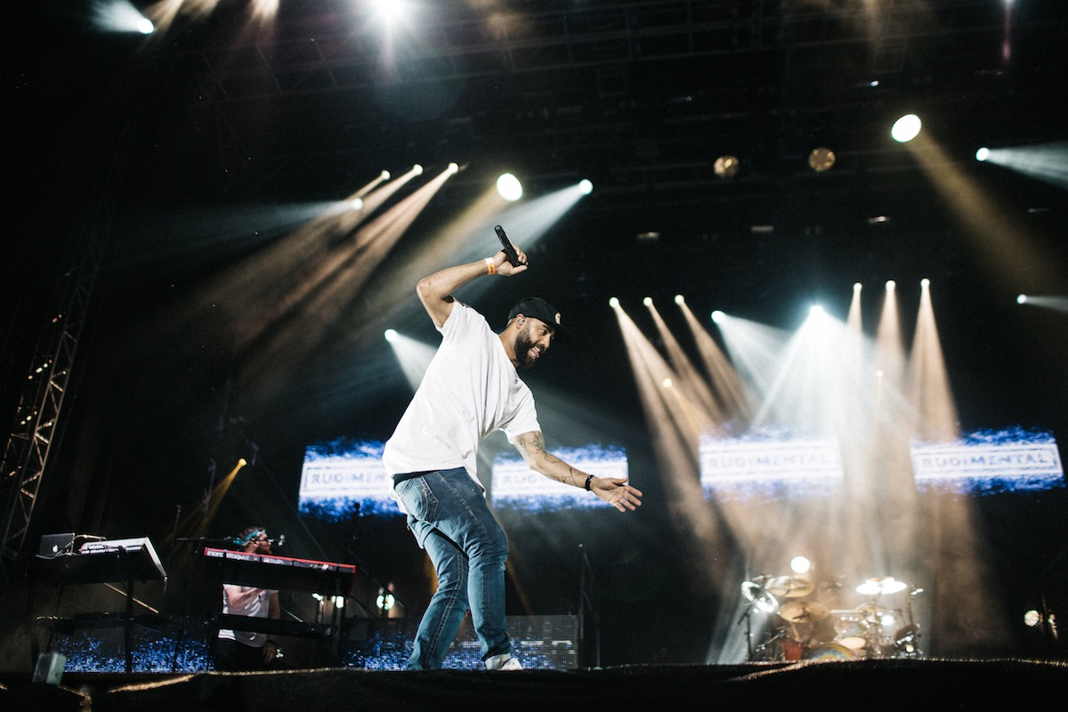 Rudimental (Credit: Vicky Grout)