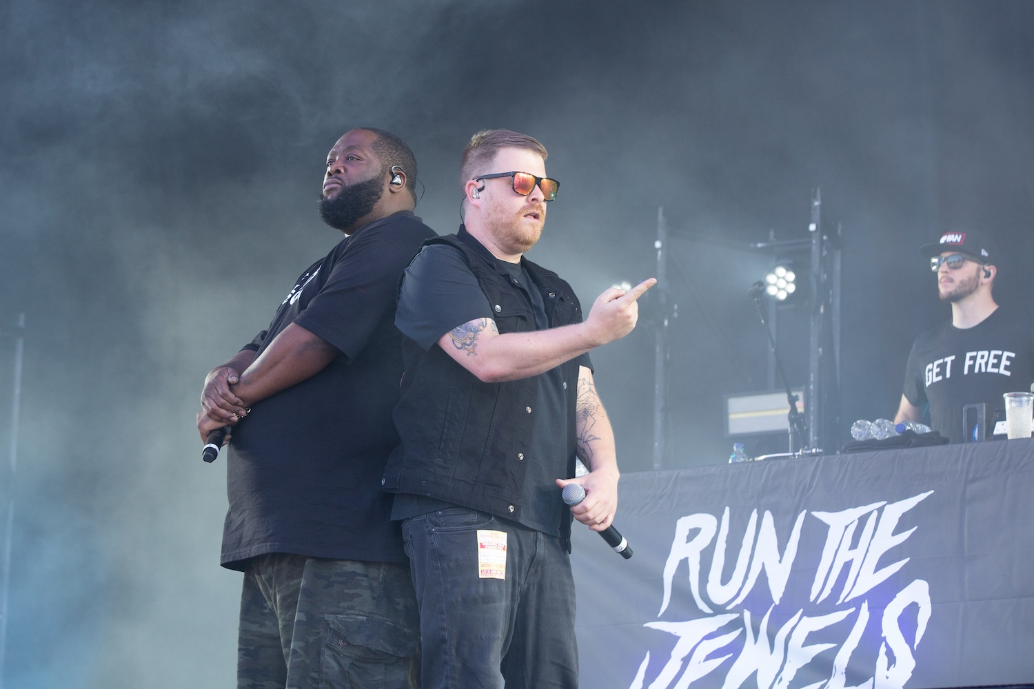 Run The Jewels - Finsbury Park, London